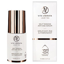 Buy Vita Liberata Self Tanning Anti-Age Facial Serum, 15ml Online at johnlewis.com