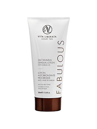 Vita Liberata Fabulous Self Tanning Gradual Lotion, 200ml