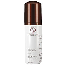 Buy Vita Liberata Fabulous Self Tanning Tinted Mousse Medium, 100ml Online at johnlewis.com