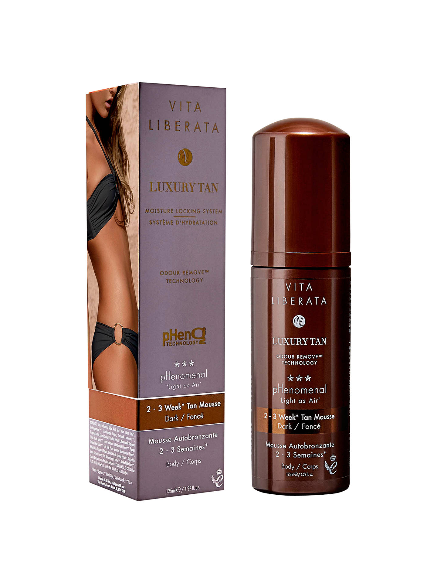 Buy Vita Liberata pHenomenal 2-3 Week Tan Mousse, Dark Online at johnlewis.com