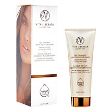 Buy Vita Liberata Self Tanning Night Moisture Mask Gradual Build Tan, 65ml Online at johnlewis.com
