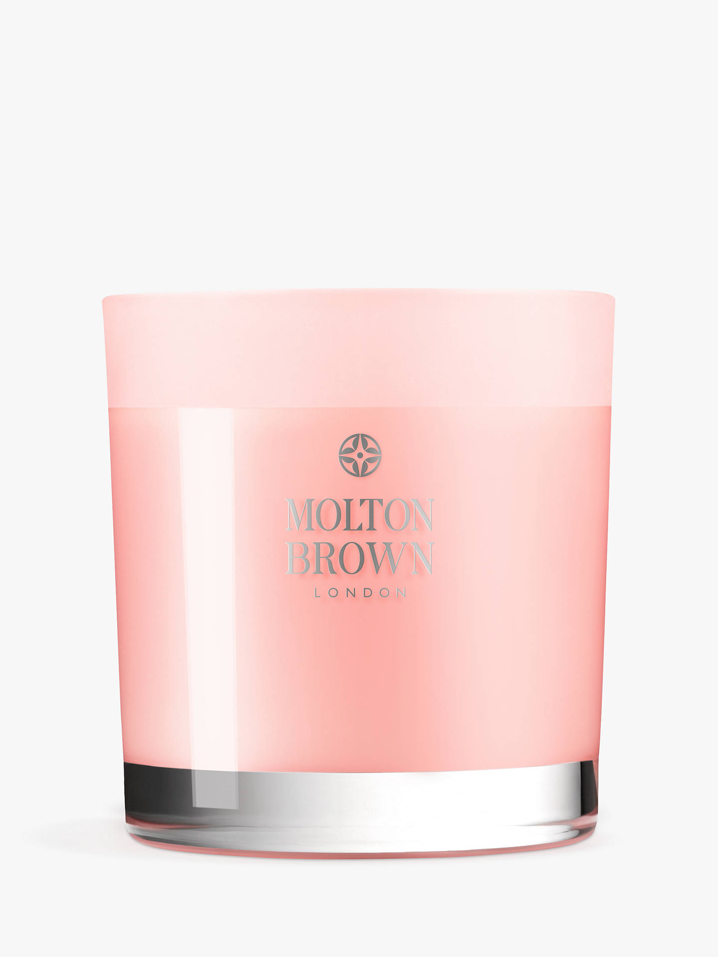 Buy Molton Brown Delicious Rhubarb & Rose Three Wick Scented Candle, 480g Online at johnlewis.com