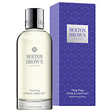 Buy Molton Brown Ylang-Ylang Home & Linen Mist, 100ml Online at johnlewis.com