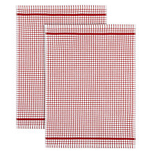 Buy John Lewis Cotton Terry Tea Towel, Set of 2 Online at johnlewis.com