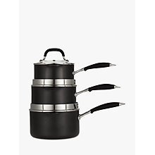 Buy John Lewis 'The Pan' Pan Set, 3 Piece Online at johnlewis.com