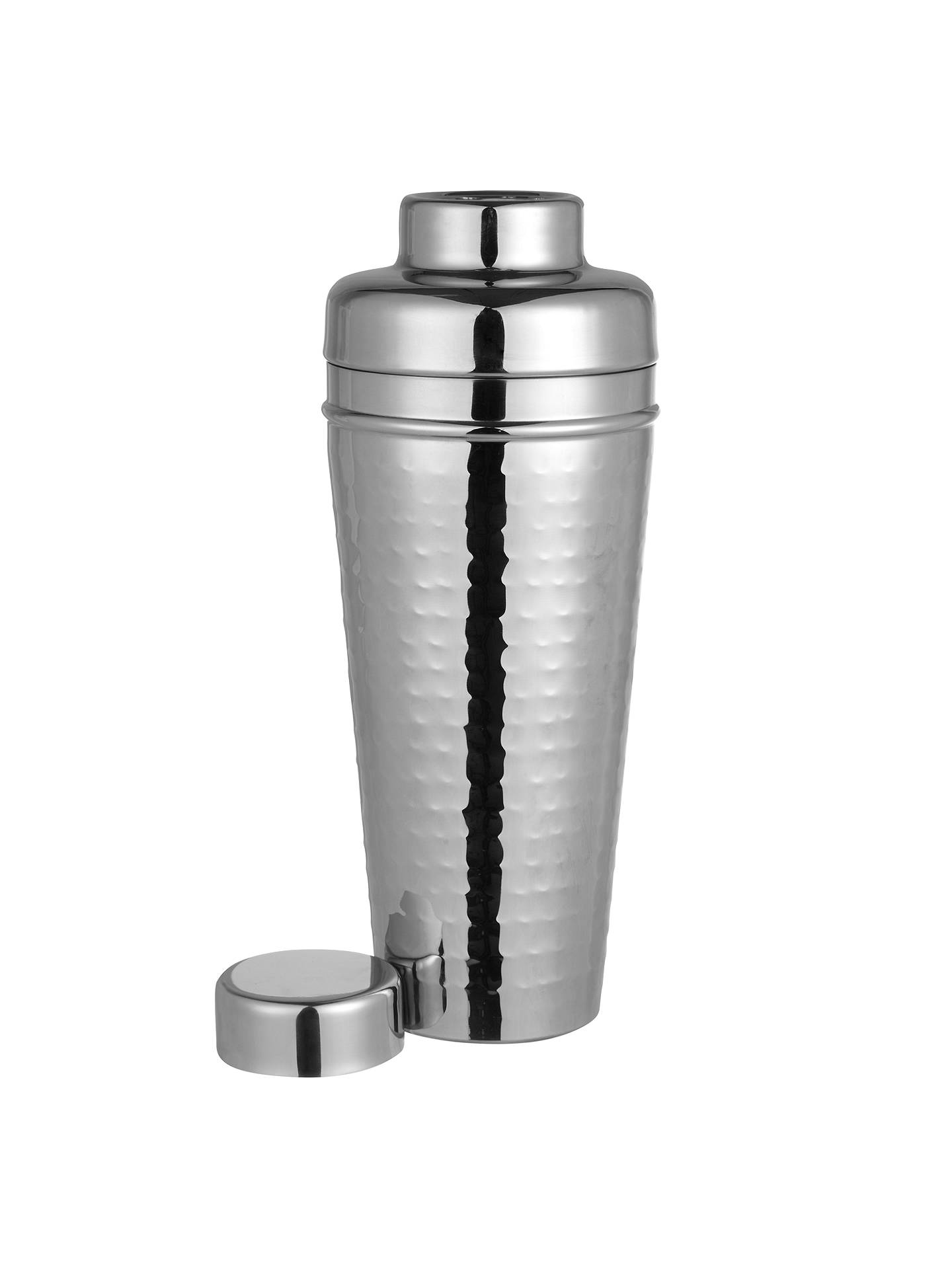 Buy John Lewis & Partners Hammered Stainless Steel Cocktail Shaker, Jumbo Online at johnlewis.com