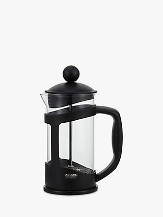 John Lewis & Partners The Basics Cafetiere, 3 Cup