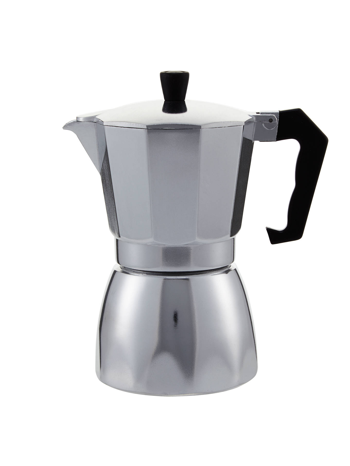 BuyJohn Lewis & Partners Espresso Silver Cafetiere, 6 Cup Online at johnlewis.com