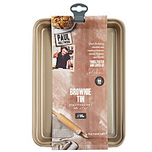 Buy Paul Hollywood Non-Stick Brownie Tin, 28cm Online at johnlewis.com
