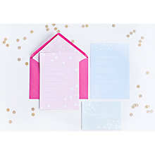 Buy Abigail Warner Confetti Personalised RSVP Postcards Online at johnlewis.com