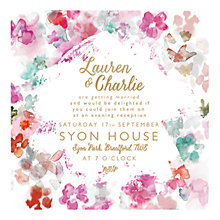 Buy Abigail Warner Summer Meadow Evening Invitations, Pack of 40 Online at johnlewis.com