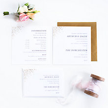Buy Abigail Warner Champagne Bubbles Information Sheets, Pack of 40 Online at johnlewis.com