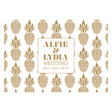 Buy Abigail Warner Tropical Personalised Evening Invitations Online at johnlewis.com