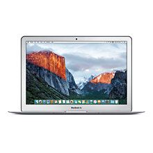 "Buy Apple MacBook Air, Intel Core i5, 8GB RAM, 128GB Flash Storage,13.3"" Online at johnlewis.com"