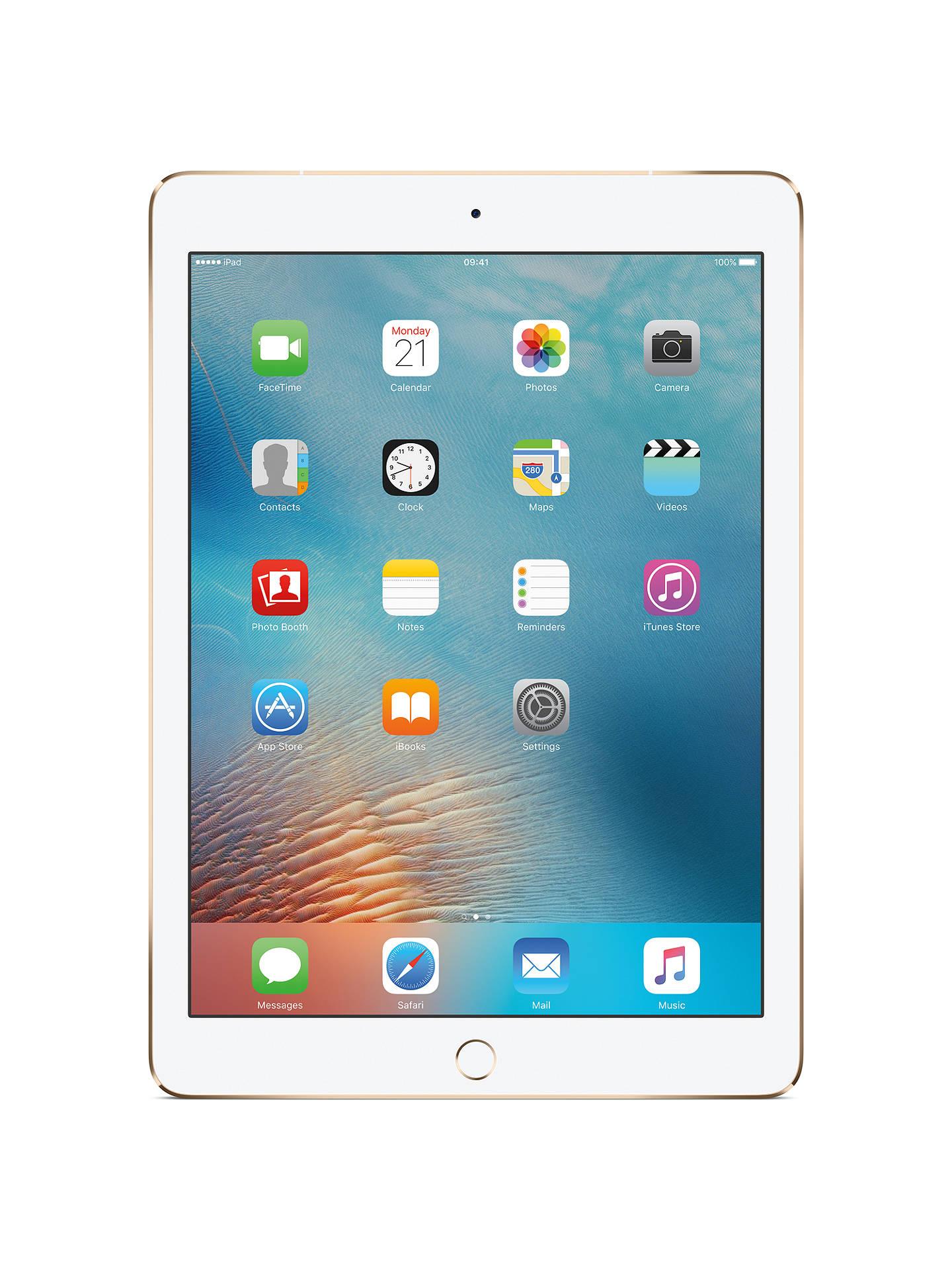 Apple Ipad Pro A9x Ios 97 Wi Fi Cellular 128gb At John Iphone 7 Black Grs International Buyapple