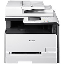 Buy Canon i-SENSYS MF628CW Wireless All-In-One Colour Laser Printer With Colour Touch Screen Online at johnlewis.com