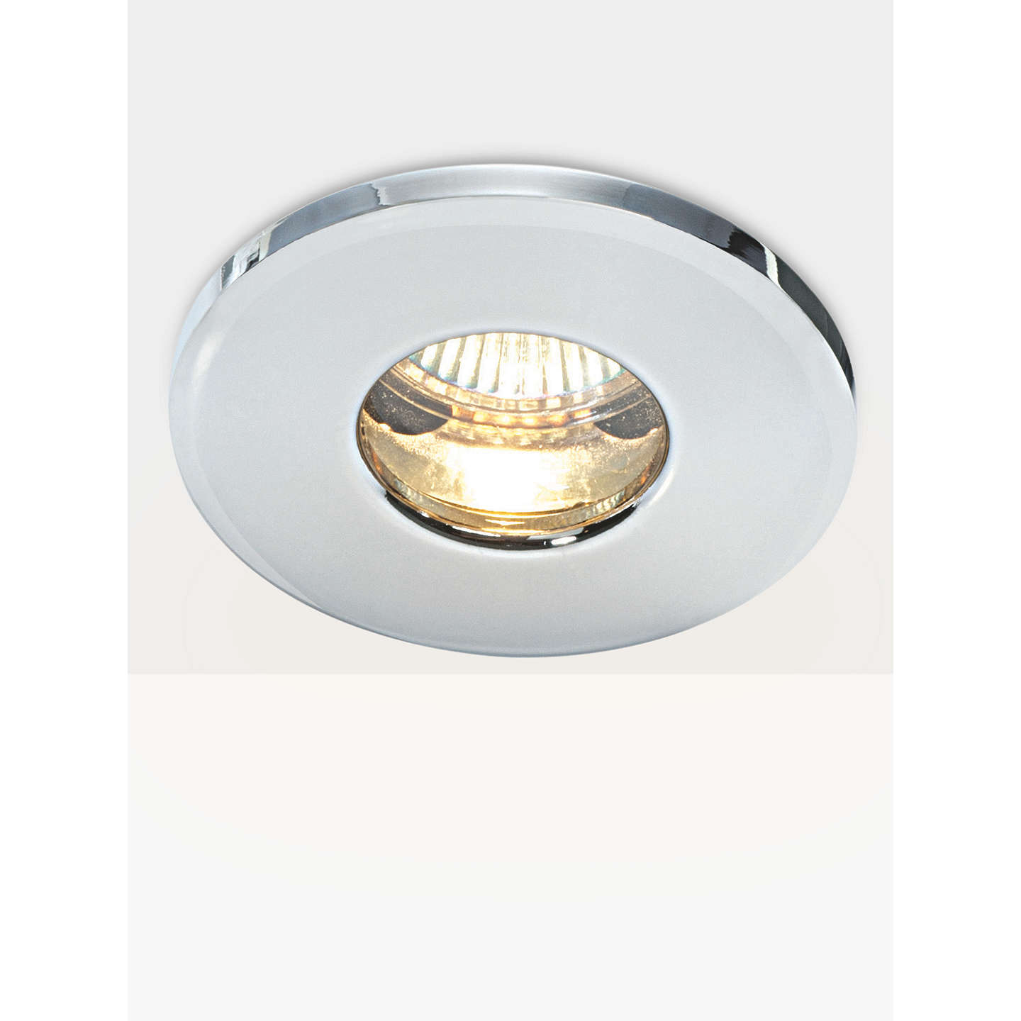 Saxby recessed bathroom spotlight chrome at john lewis buysaxby recessed bathroom spotlight chrome online at johnlewis aloadofball Images