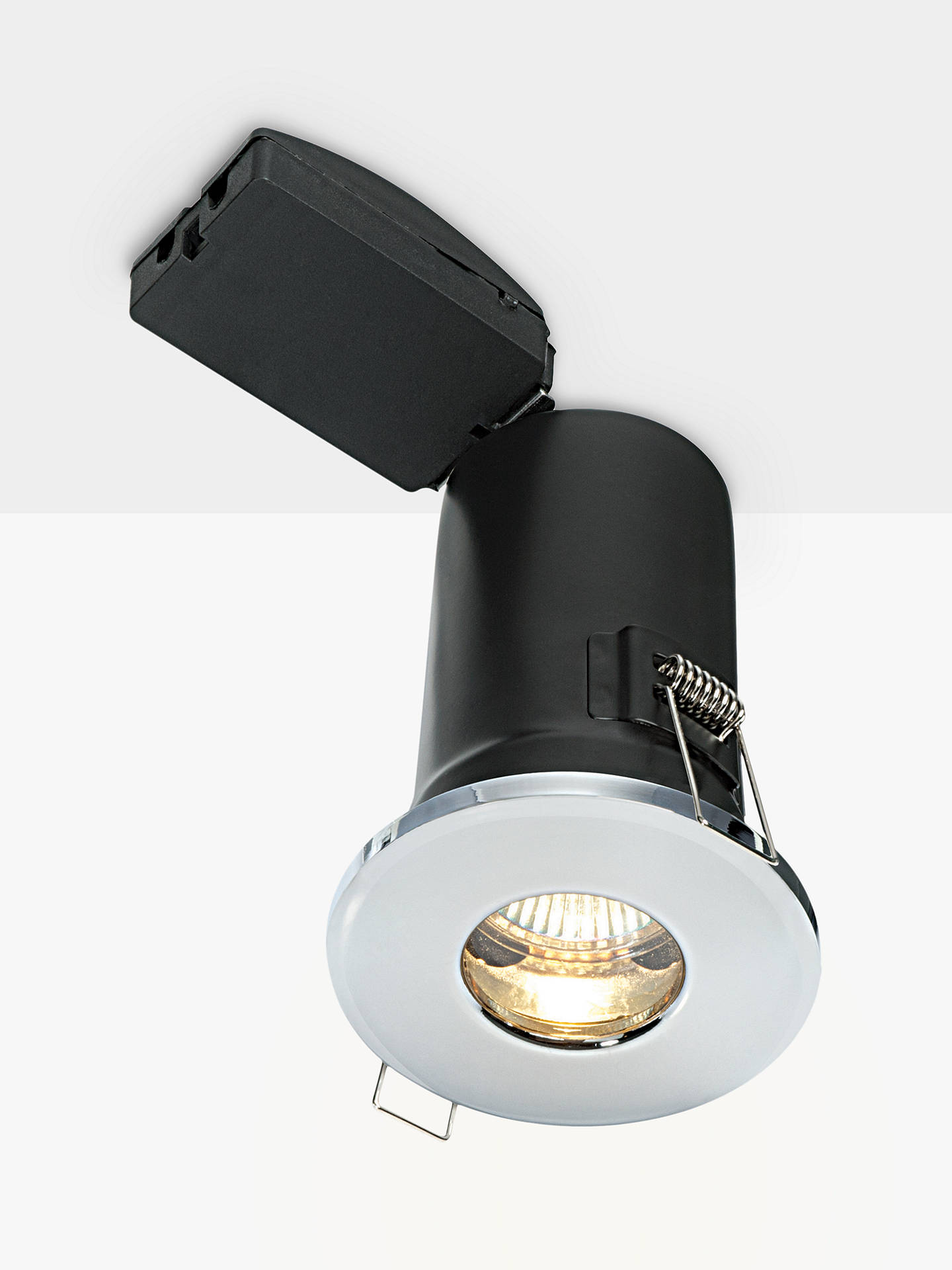 Buy Saxby Recessed Bathroom Spotlight, Chrome Online at johnlewis.com