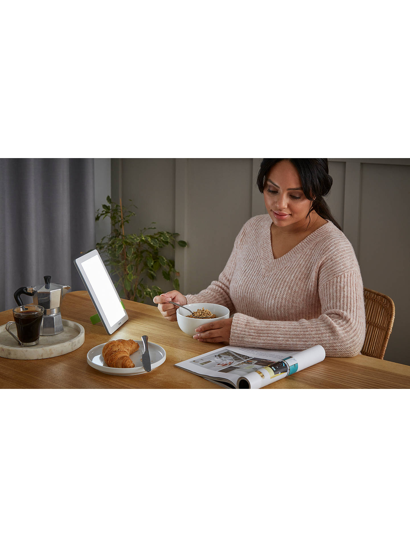 Buy Beurer TL 50 SAD Therapy Light, White Online at johnlewis.com