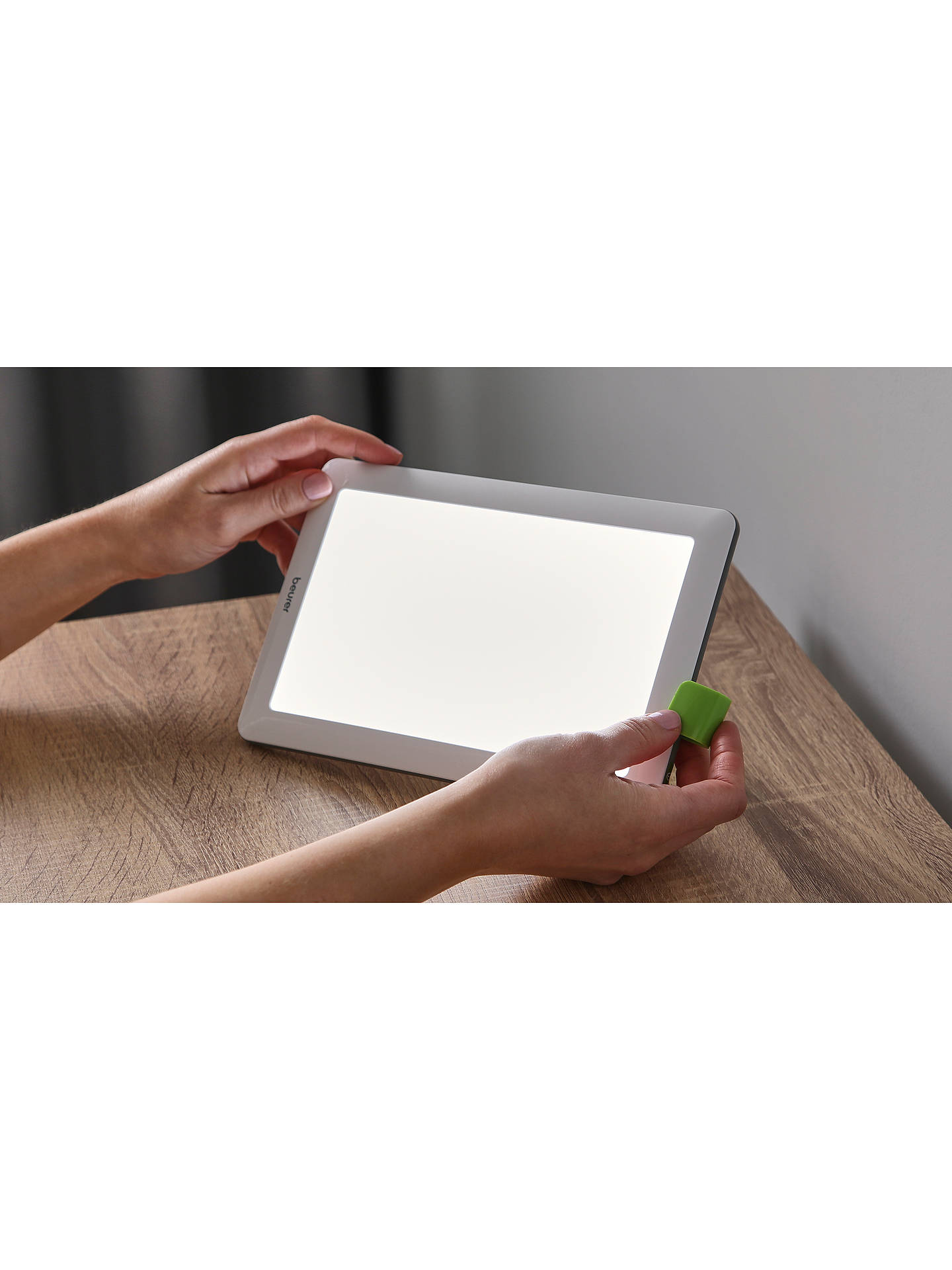 BuyBeurer TL 50 Compact Wake up to Daylight SAD Light, White Online at johnlewis.com