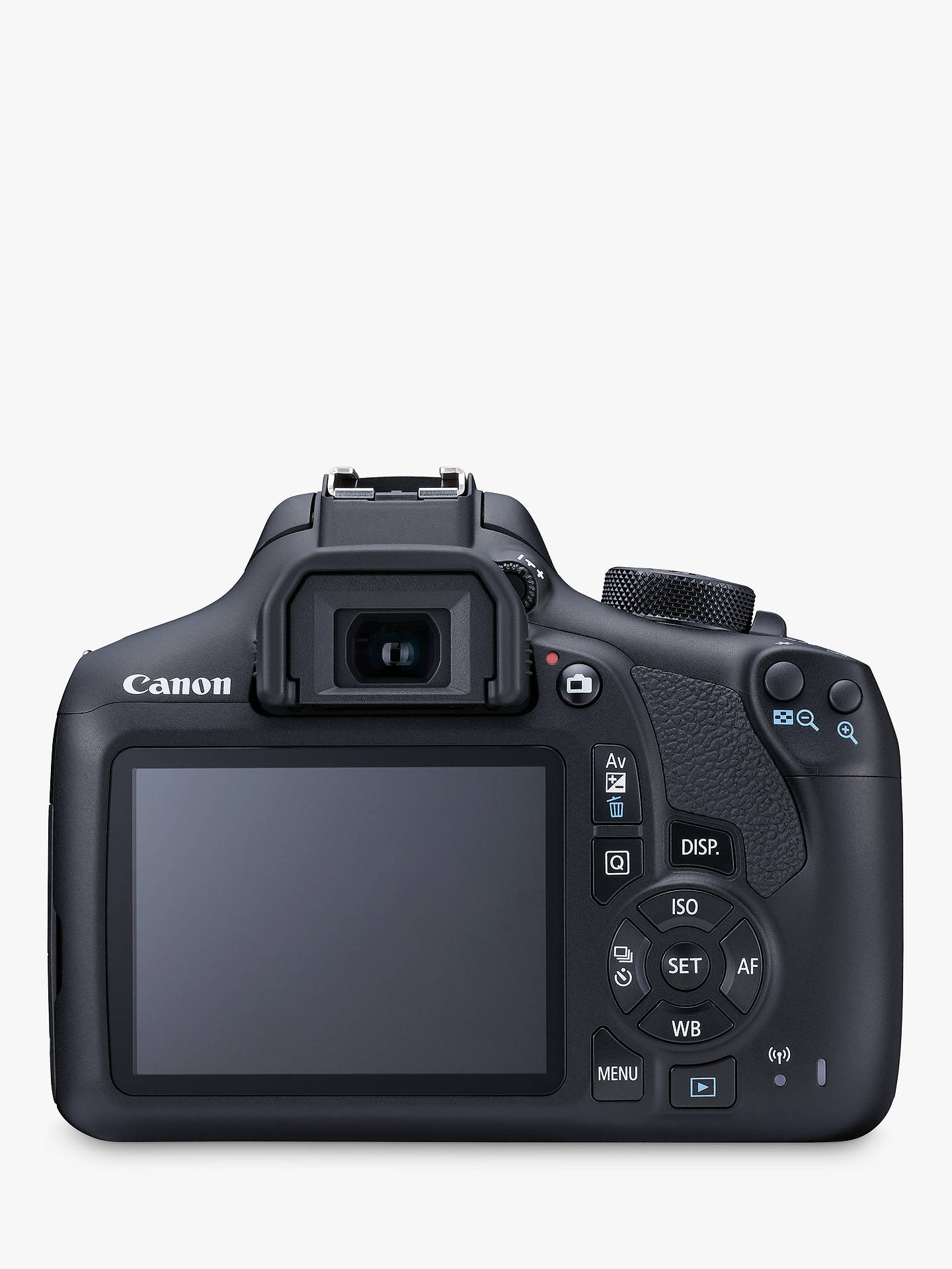 Canon EOS 1300D Digital SLR Camera With 18-55mm Lens, HD 1080p, 18MP,  Wi-Fi, NFC, 3