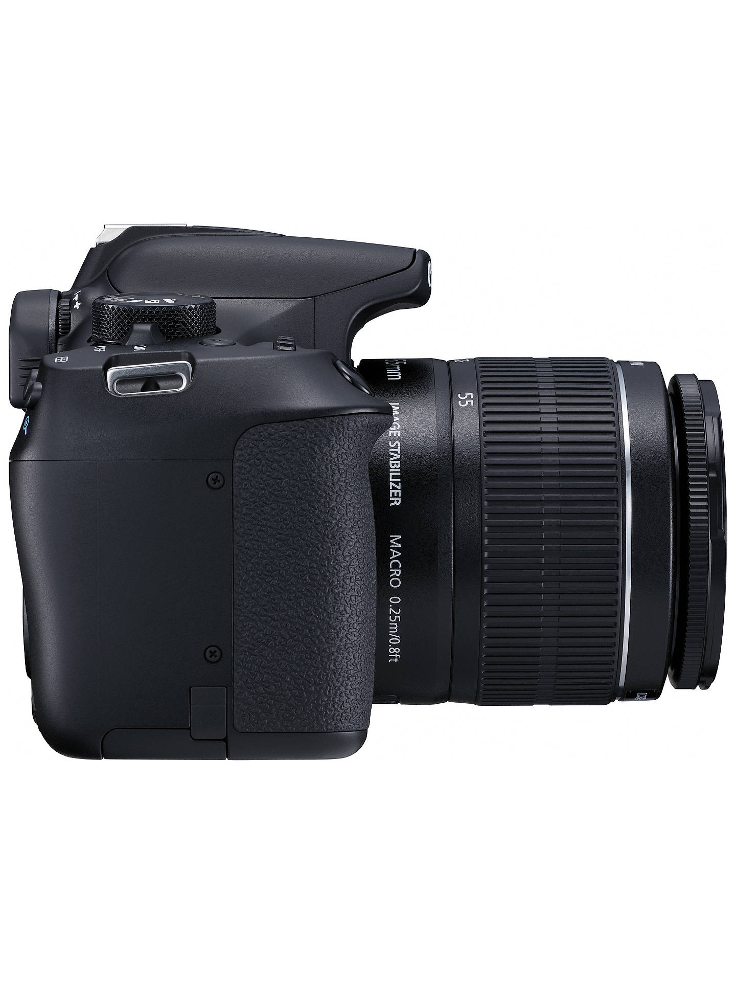 "BuyCanon EOS 1300D Digital SLR Camera With 18-55mm IS II Lens, HD 1080p, 18MP, Wi-Fi, NFC,  3"" LCD Screen Online at johnlewis.com"