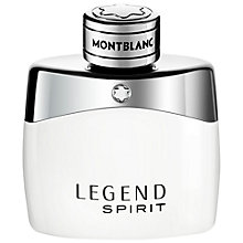 Buy Montblanc Legend Spirit Eau de Toilette Online at johnlewis.com