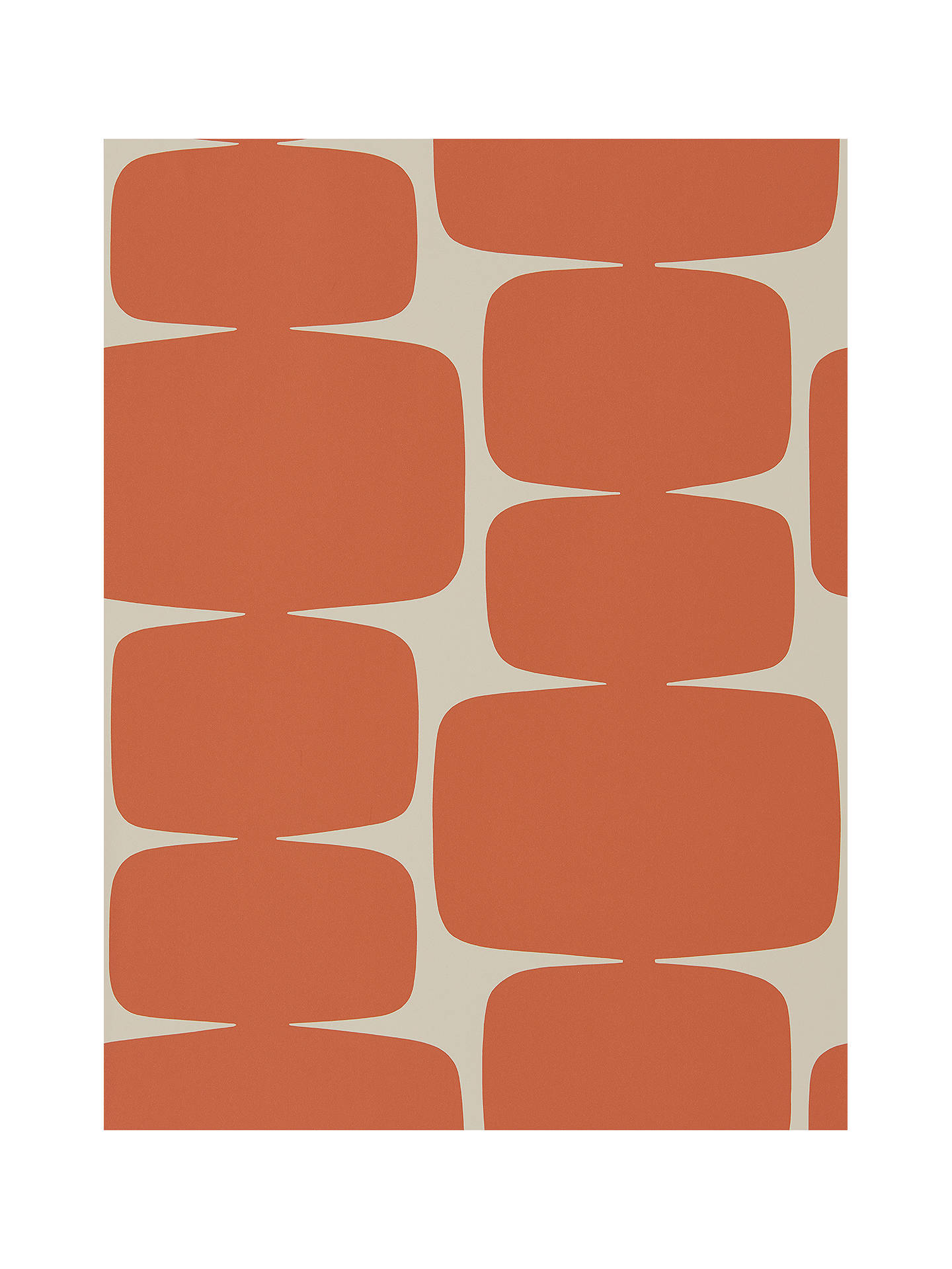 BuyScion Lohko Wallpaper, Paprika 111295 Online at johnlewis.com