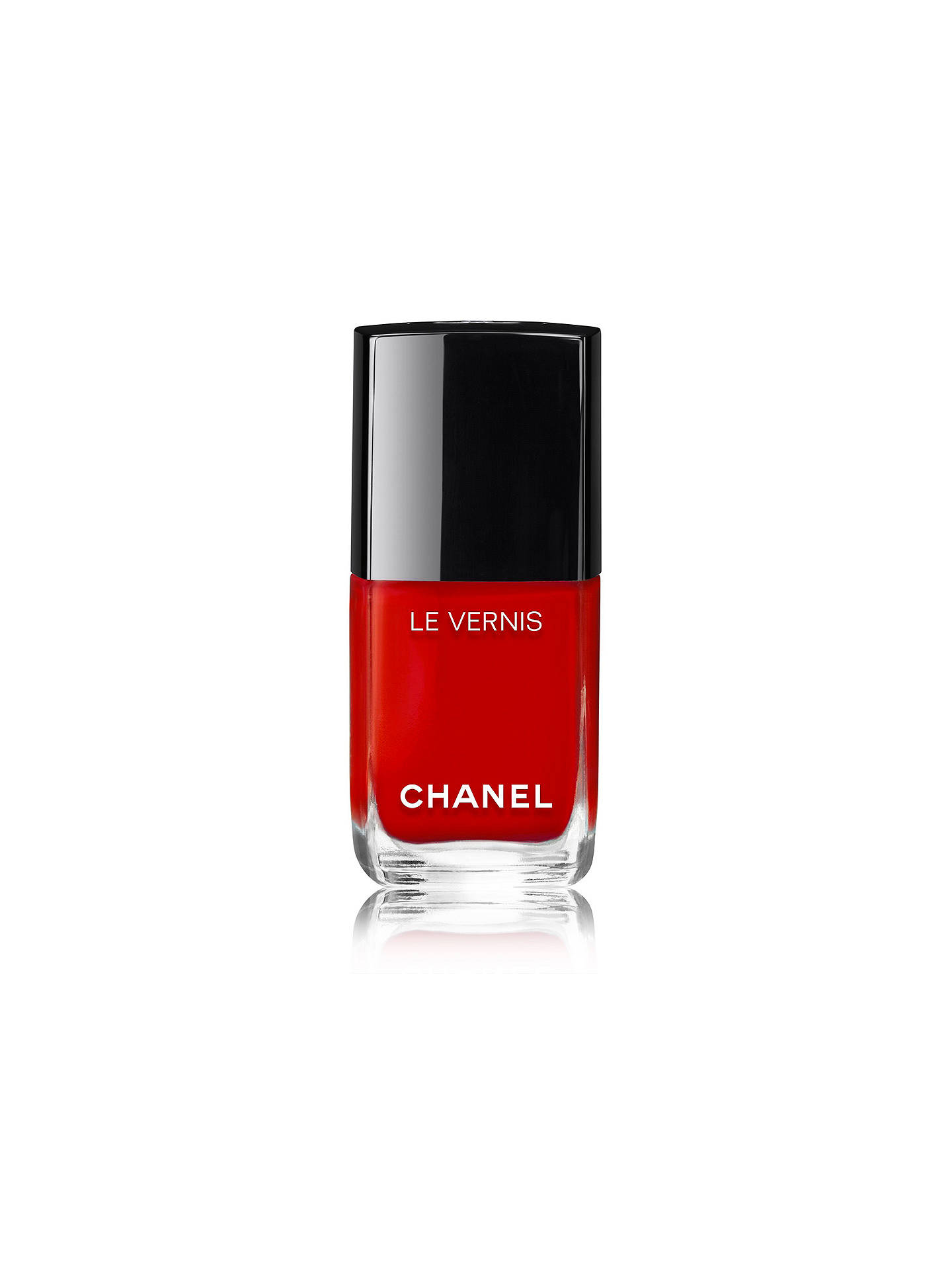 Buy CHANEL LE VERNIS Longwear Nail Colour, 500 Rouge Essentiel Online at johnlewis.com