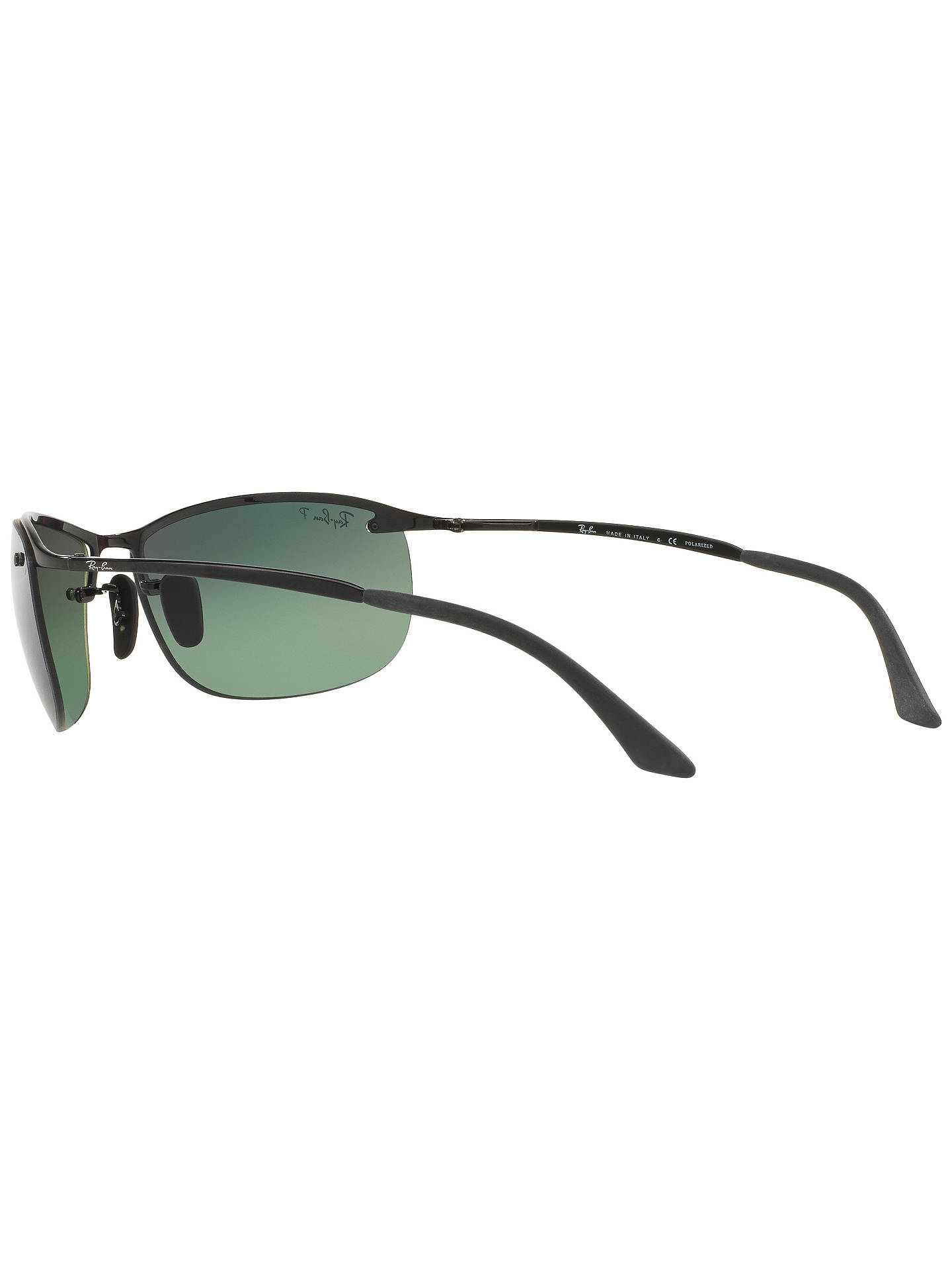 4a0d3f876e Ray-Ban RB3542 Polarised Chromance Rectangular Sunglasses at John ...