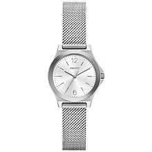 Buy DKNY Women's Parsons Mesh Bracelet Strap Watch Online at johnlewis.com