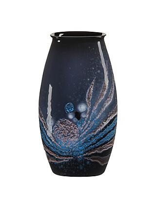 Poole Pottery Celestial Manhattan Vase, H26cm, Grey/ Blue