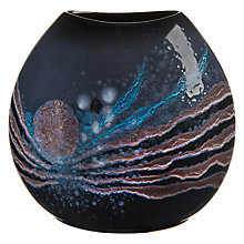 Buy Poole Pottery Celestial Purse Vase, Grey/ Blue, H26cm Online at johnlewis.com