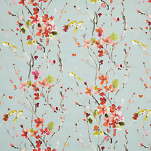 Buy Voyage Armathwaite Furnishing Fabric, Pink Online at johnlewis.com