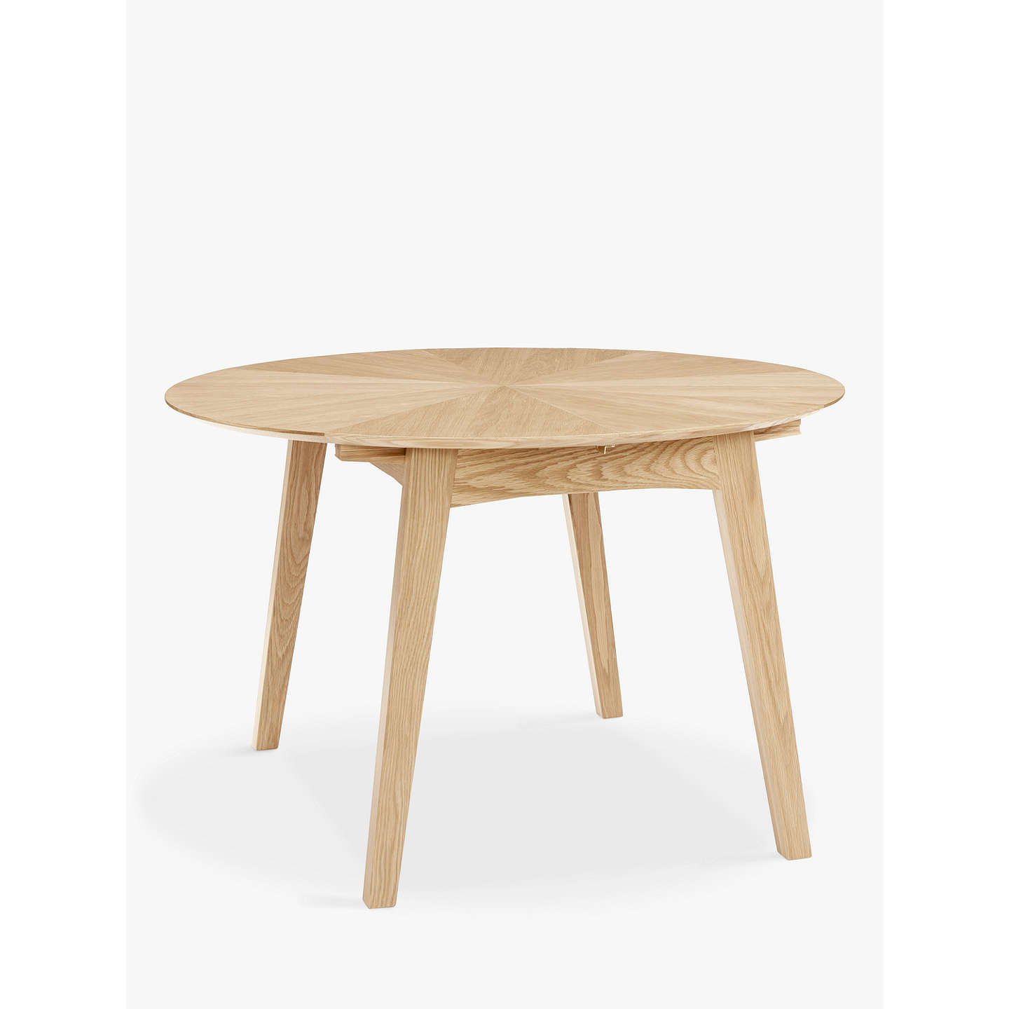 Genial BuyJohn Lewis Duhrer 4 6 Seater Extending Round Dining Table Online At  Johnlewis.com ...