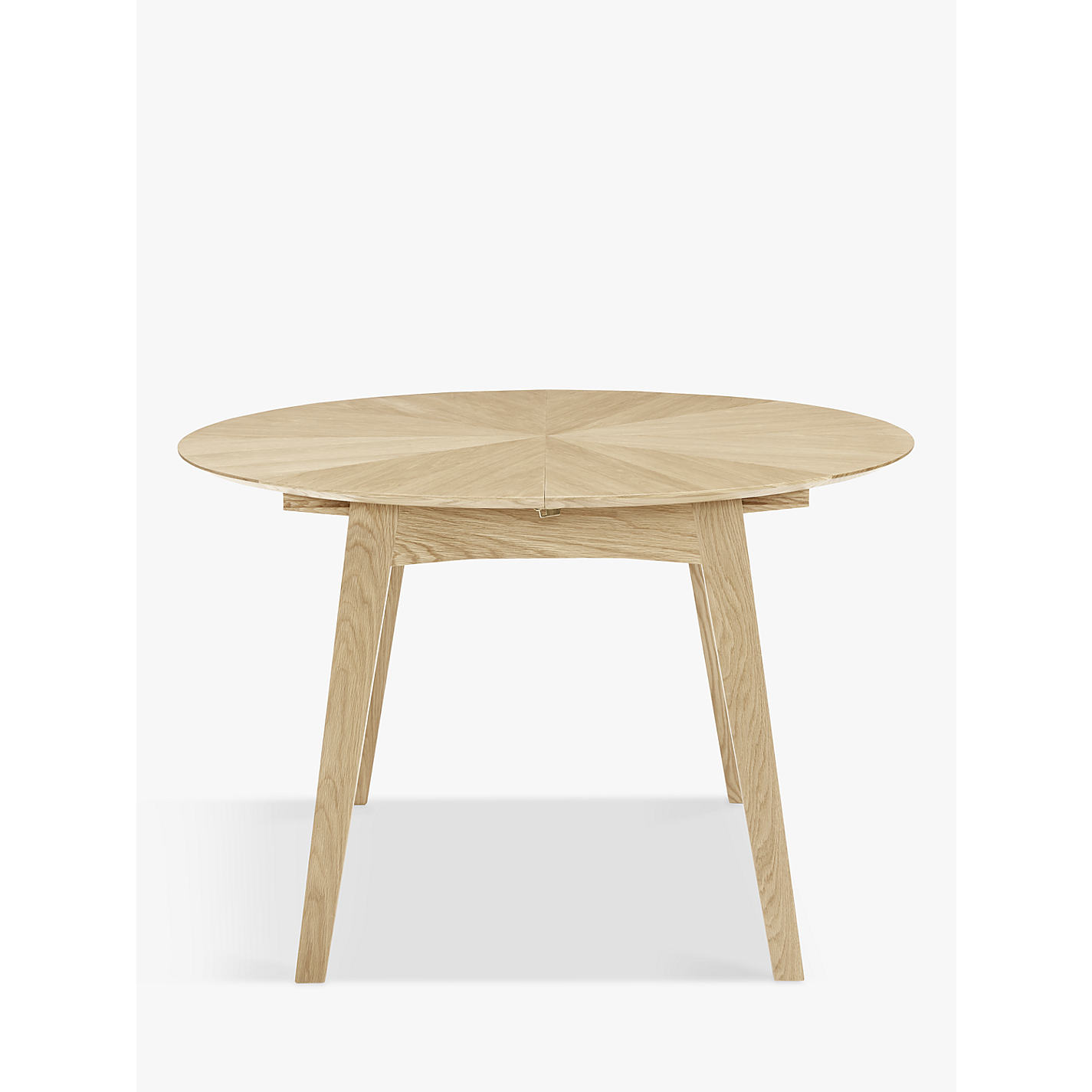 Buy John Lewis Duhrer 4 6 Seater Extending Round Dining Table Online At Johnlewis