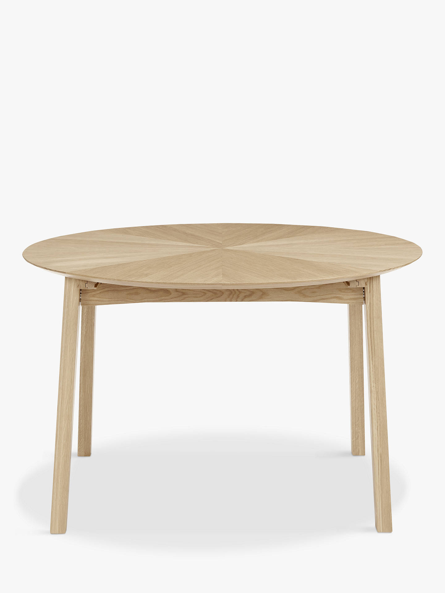BuyJohn Lewis & Partners Duhrer 4-6 Seater Extending Round Dining Table Online at johnlewis.com