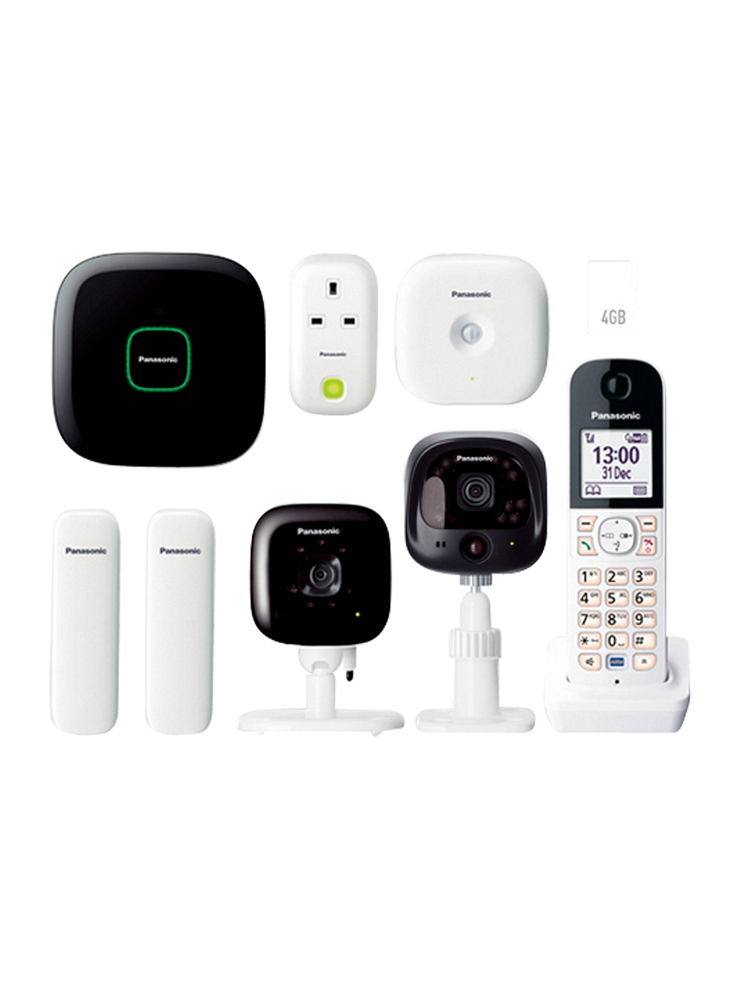 Panasonic Smart Home Monitoring Amp Control Twin Camera Kit