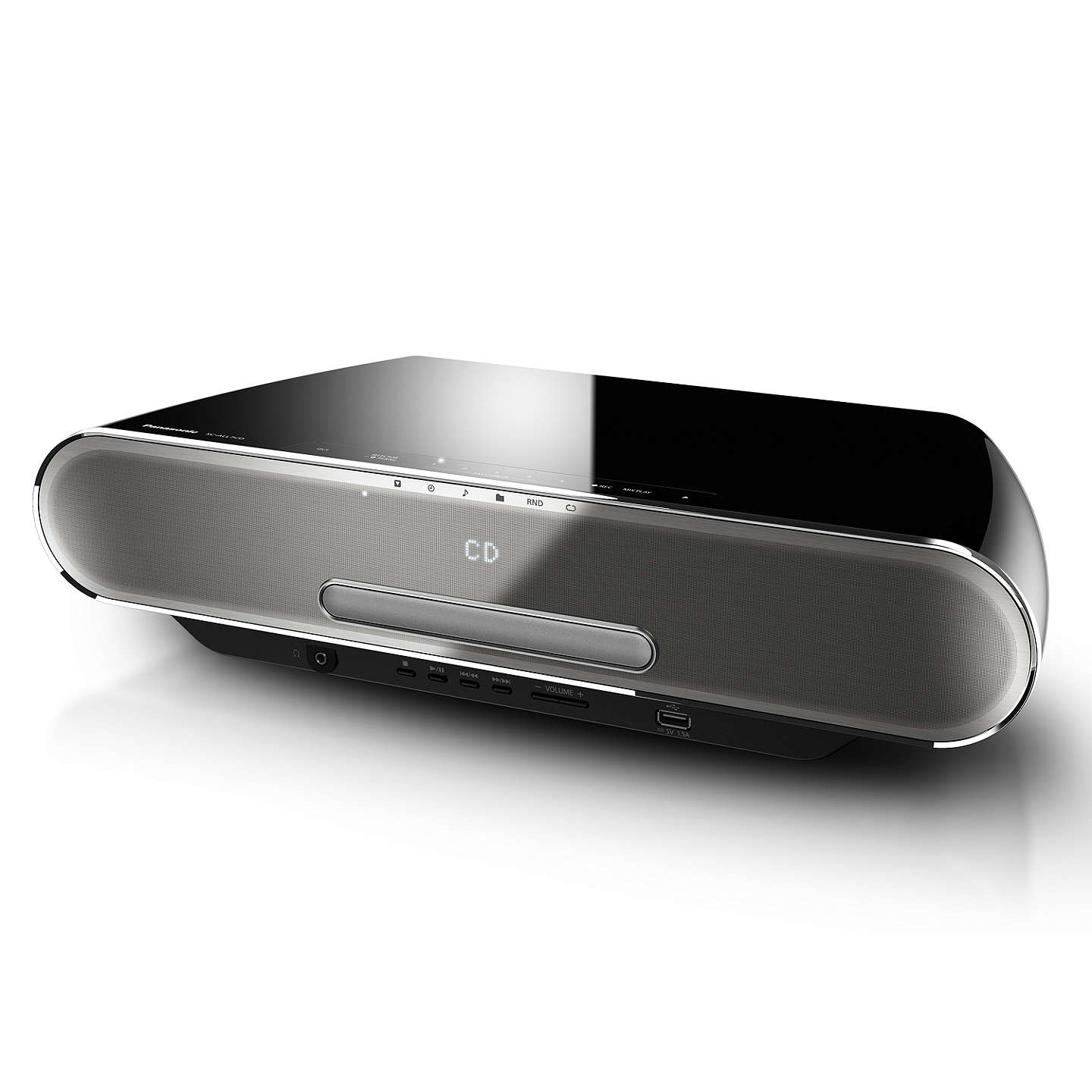 BuyPanasonic SC-ALL7CD Multiroom Bluetooth DAB+/FM Hi-Fi System With CD Player & 4GB Internal Memory Online at johnlewis.com