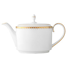 Buy Vera Wang Swirl Bone China Teapot Online at johnlewis.com