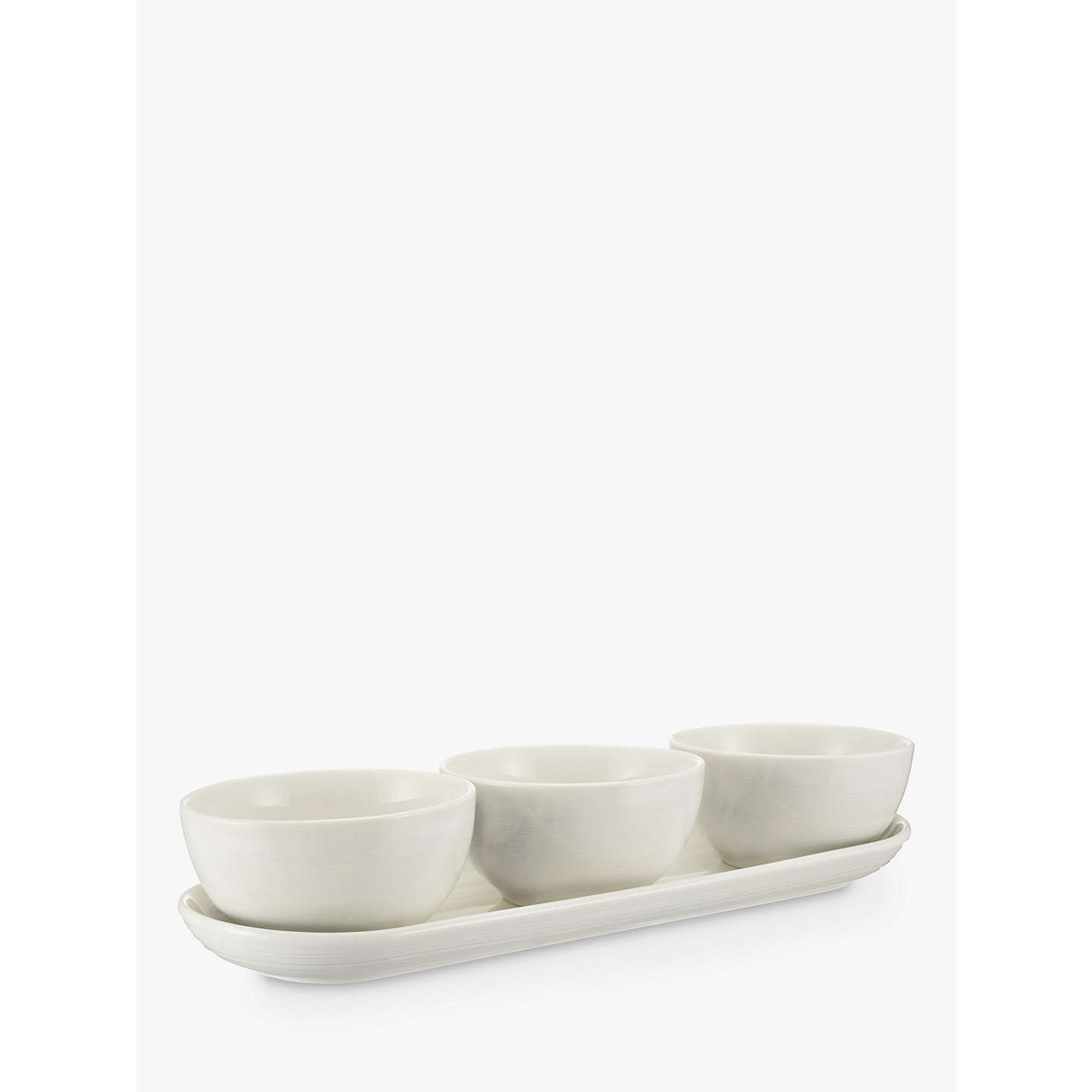 Croft collection luna 3 dip bowls on tray at john lewis buycroft collection luna 3 dip bowls on tray online at johnlewis reviewsmspy
