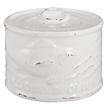 Buy Virginia Casa Toscana Pepper Can, White Online at johnlewis.com