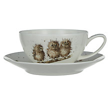 Buy Royal Worcester Wrendale Capuccino Cup & Saucer Online at johnlewis.com