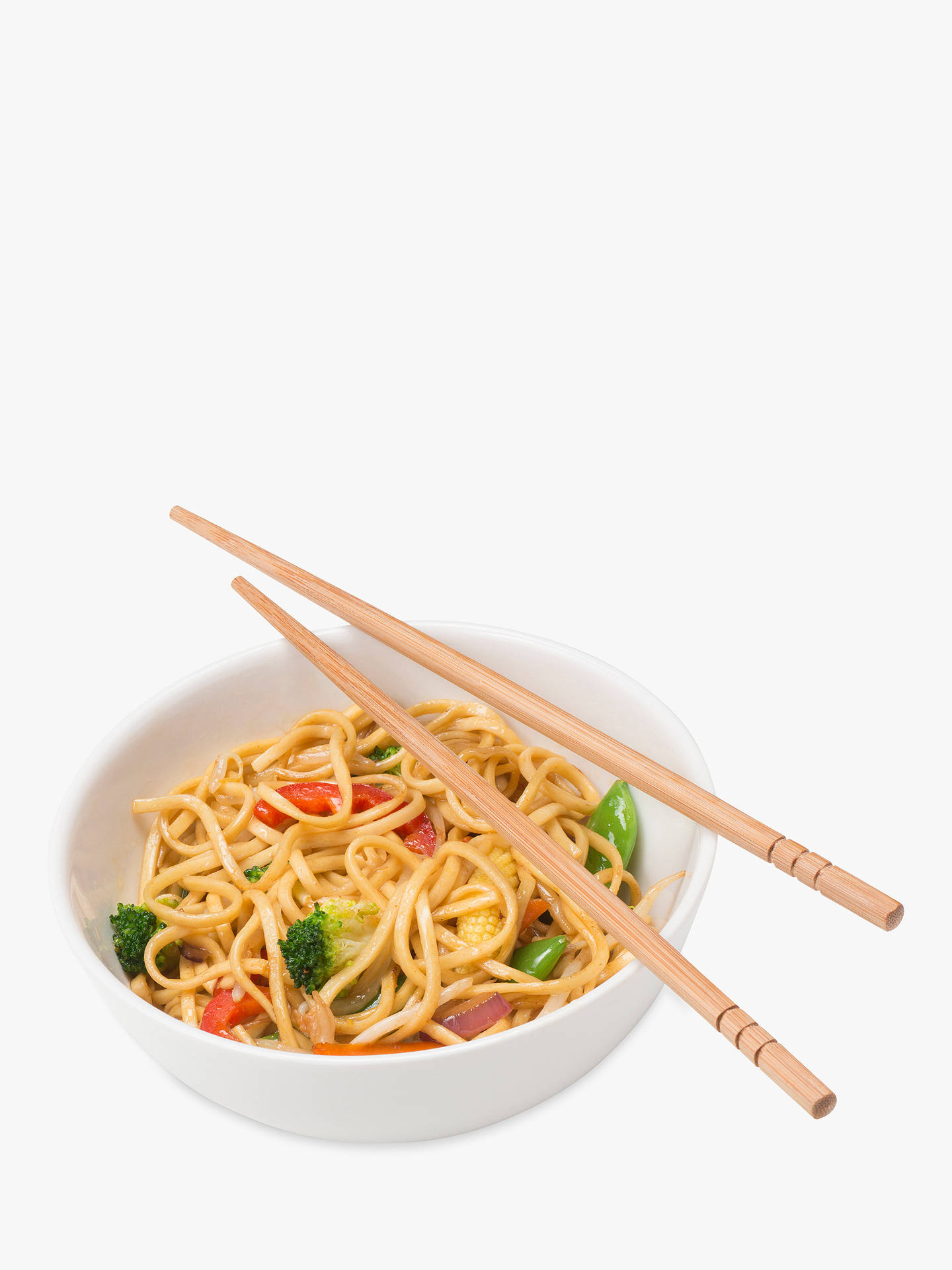 Buy Ken Hom Bamboo Chopsticks, 4 Pairs Online at johnlewis.com