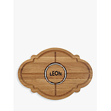 Buy LEON Cut and Carve Chopping Board for Meat Online at johnlewis.com