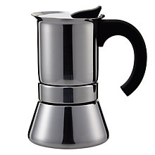 Buy John Lewis Espresso Induction Cafetiere, 6 Cup Online at johnlewis.com