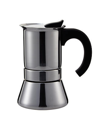 Buy John Lewis & Partners Espresso Induction Cafetiere, 6 Cup Online at johnlewis.com