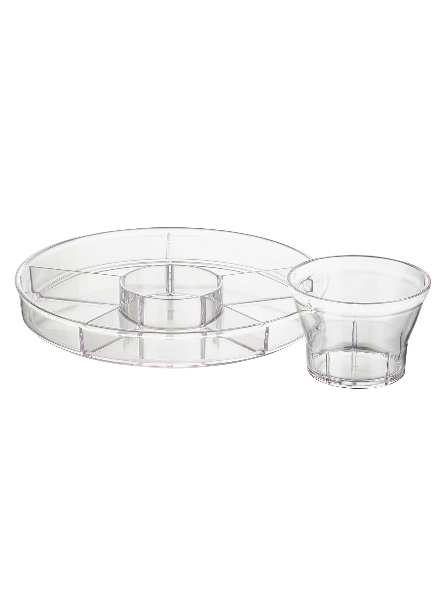 BuyJohn Lewis 4-In-1 Punch Bowl and Glasses Online at johnlewis.com