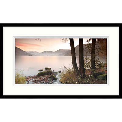 Mike Shepherd – Misty Lake Framed Print, 104 x 64cm