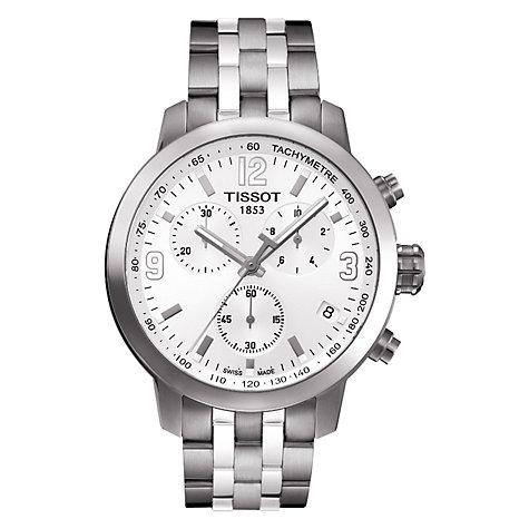 Buy Tissot T0554171101700 Men's PRC 200 Chronograph Date ...